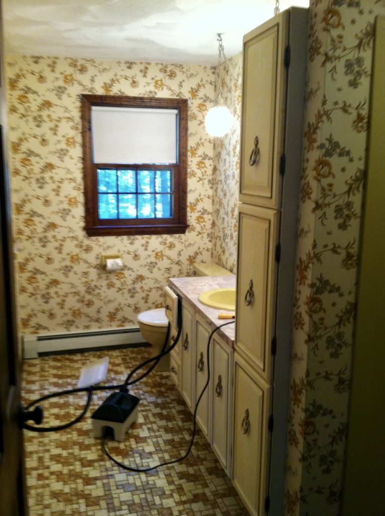 Before Master Bathroom