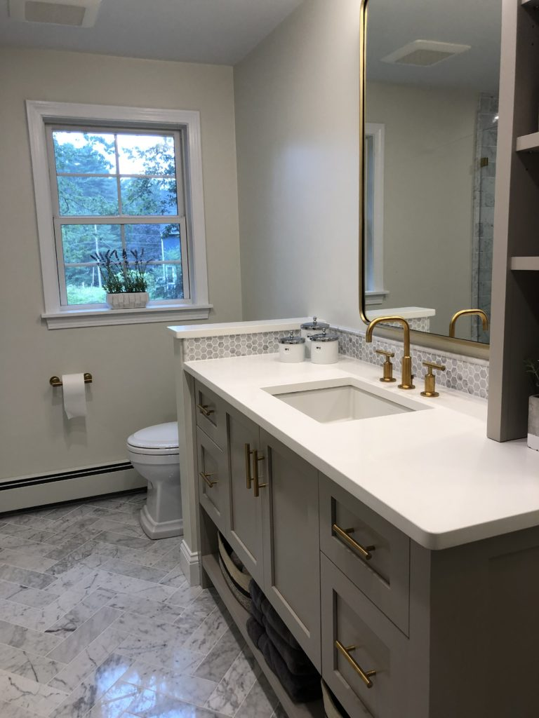 After Master Bathroom