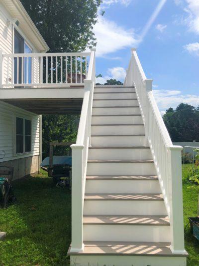 Norton, MA deck renovation