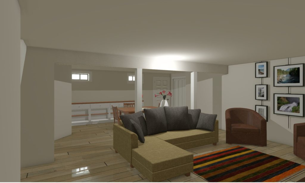 Design Phase 3D Rendering