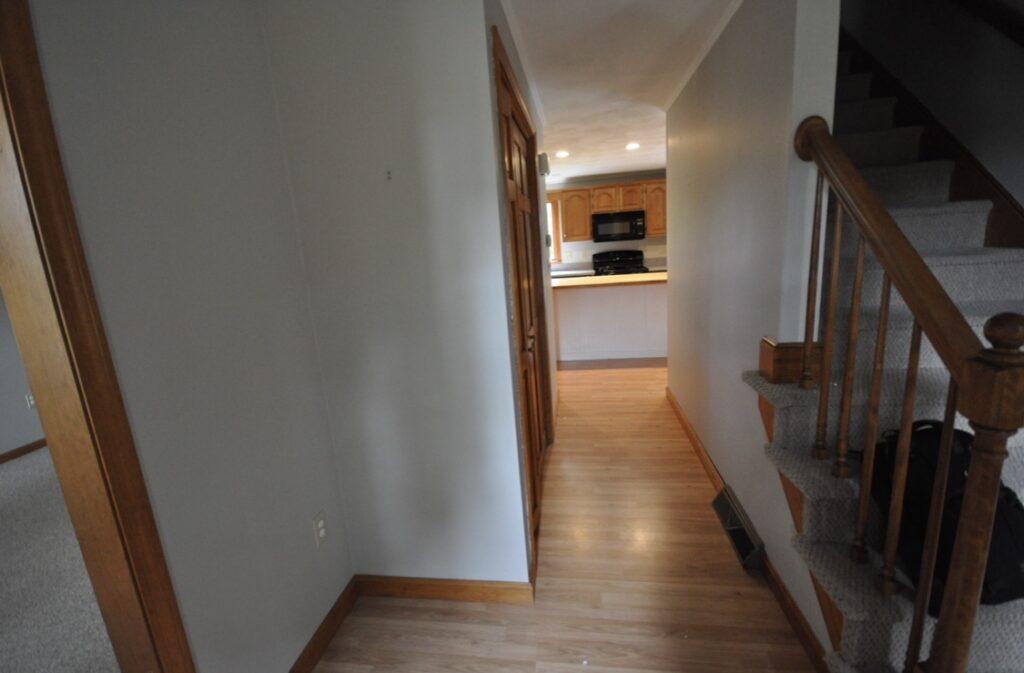BEFORE - hallway view